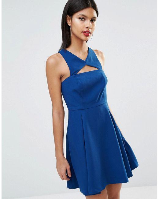 BCBGeneration | Женское Splash U45 Платье С Вырезом Спереди Bcbg Generation Splash