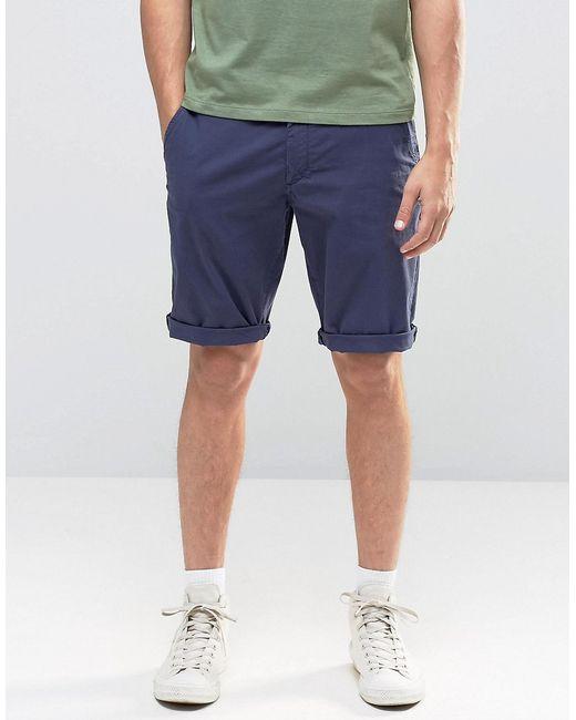 Franklin & Marshall | Мужские Синие Шорты Чиносы Franklin And Marshall Uniform Blue