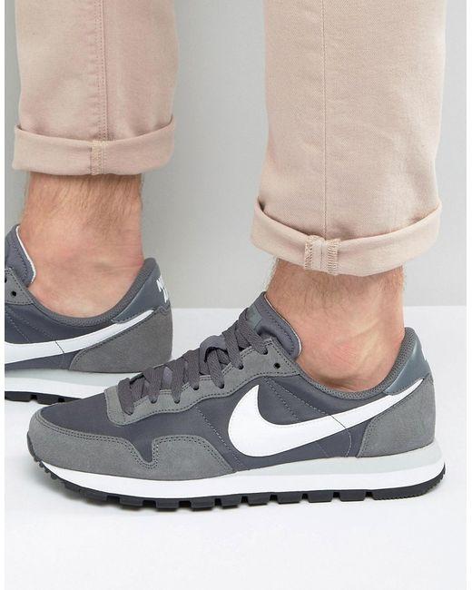 Nike | Мужские Серые Серые Кроссовки Air Pegasus 83 827921-002 Серый