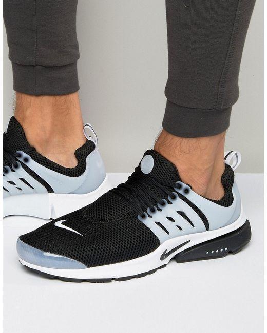 Nike   Мужские Чёрные Черные Кроссовки Air Presto 848132-010 Черный