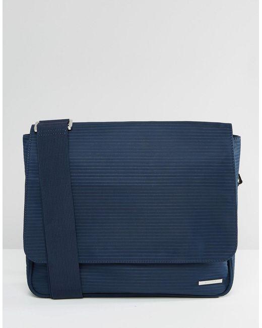Esprit   Синяя Сумка Почтальона Темно-Синий