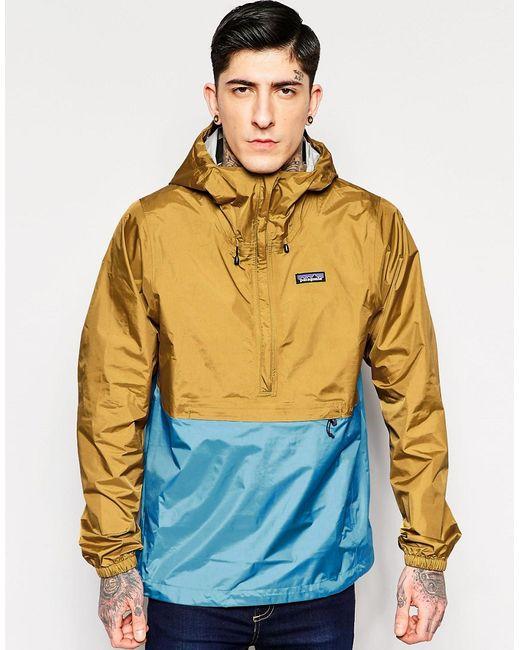 Patagonia | Мужская Коричневая Куртка Через Голову Torrentshell Oaks Brown