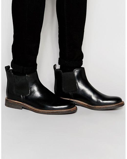 Firetrap | Мужские Чёрные Ботинки Челси Ritz Черный