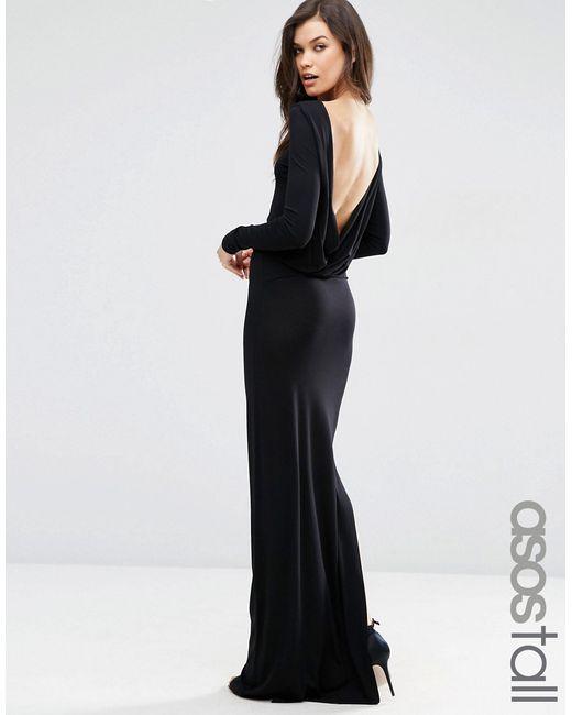 ASOS TALL | Женское Платье Макси С Длинными Рукавами И Глубоким