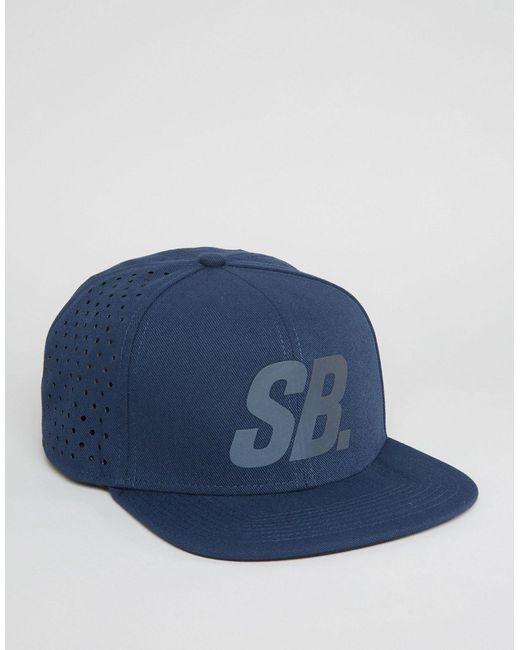 Nike SB   Синяя Кепка С Перфорацией Reflect Pro 804567-451