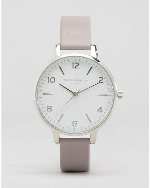 Olivia Burton | Женские Серые Часы С Современным Винтажным Дизайном Серый