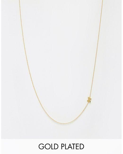 gorjana | Асимметричное Ожерелье Золотой