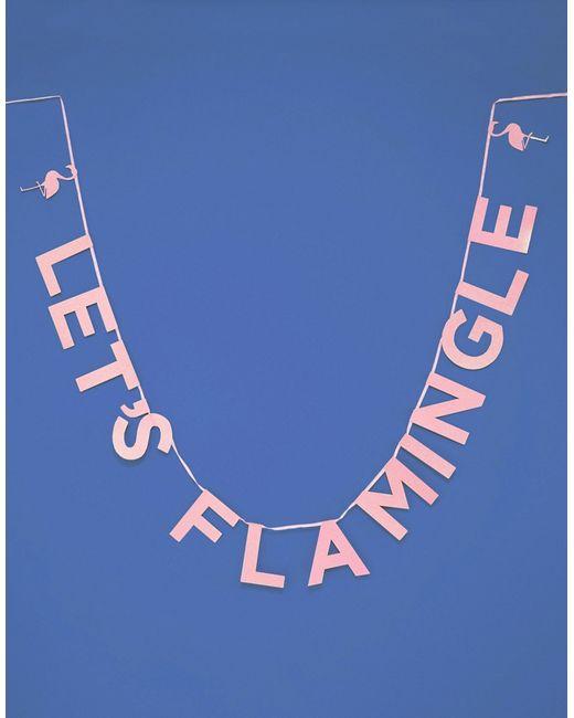 Talking Tables   Многоцветный Баннер Lets Flamingle