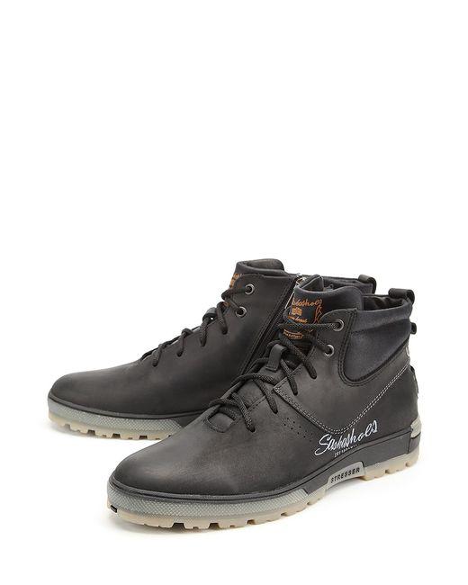 Sashashoes | Мужские Чёрные Ботинки