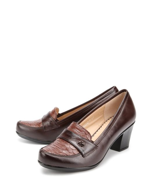 Avery | Женские Коричневые Туфли