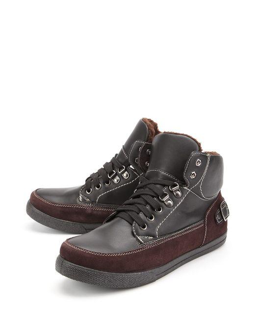 Алми | Мужские Чёрные Ботинки