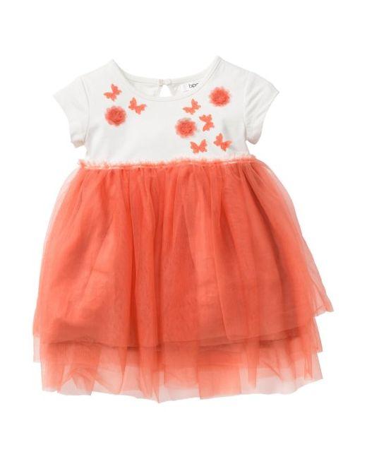 bonprix | Женское Розовое Платье Из Тюля Размеры 80-134