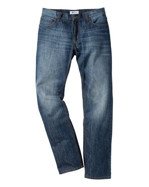 bonprix | Мужские Голубы Джинсы Regular Fit Straight Cредний Рост N