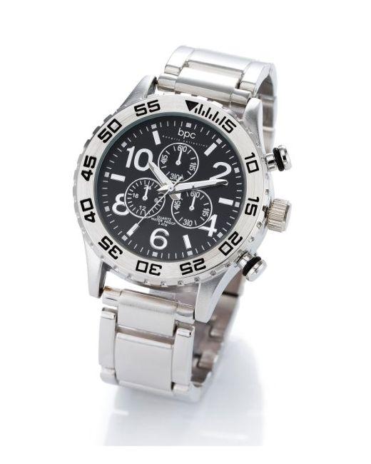 bonprix | Мужские Серебристые Мужские Часы