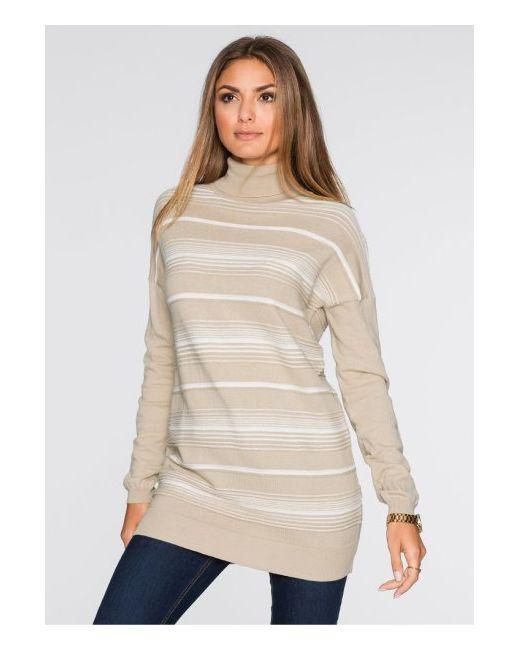 bonprix | Женский Белый Пуловер