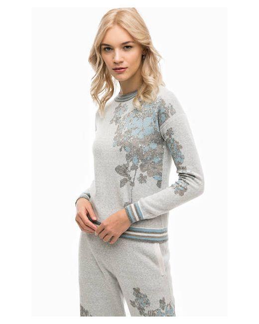 Stefanel | Женский Серый Джемпер С Высоким Содержанием Шерсти