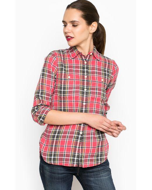 DS Ralph Lauren | Женская Розовая Рубашка
