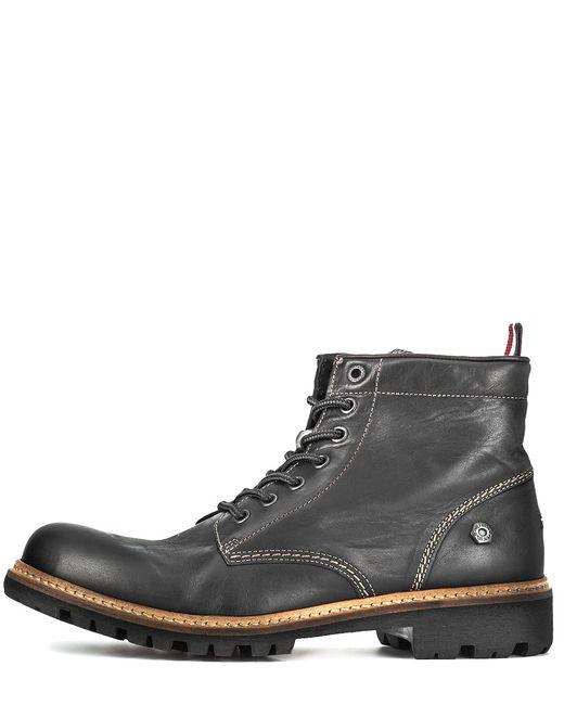 Tommy Hilfiger Denim | Мужские Чёрные Ботинки