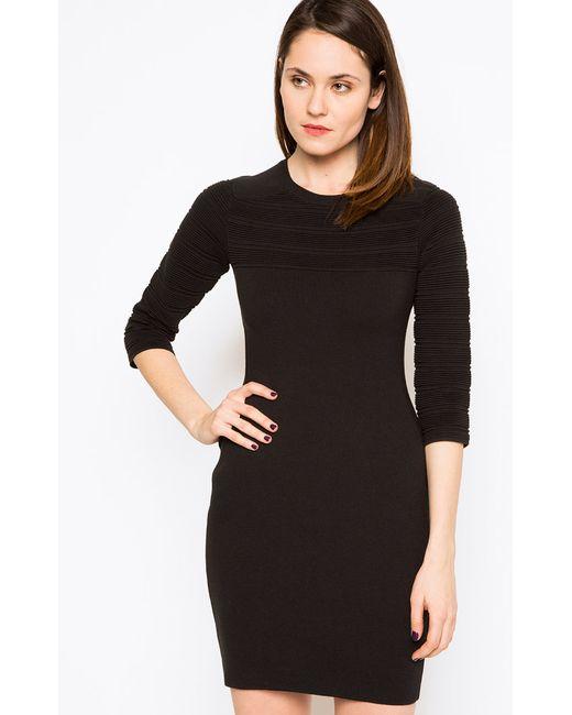 Stefanel | Женское Чёрное Платье