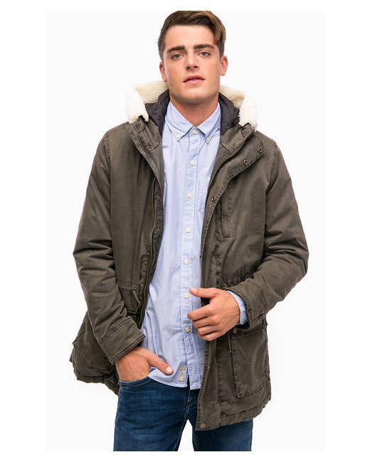 7e70d6dd8c6 Хлопковая Куртка С Карманами И Капюшоном Pepe Jeans London коричневый ...