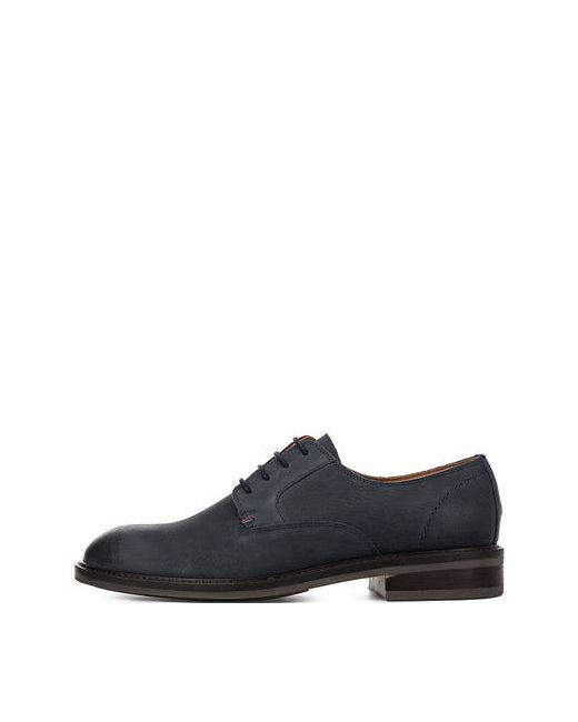 Tommy Hilfiger | Мужские Синие Кожаные Туфли