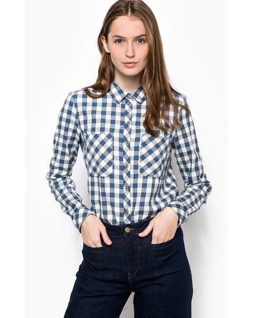Tom Tailor Denim | Женская Синяя Рубашка