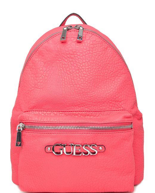 Guess | Женский Розовый Рюкзак