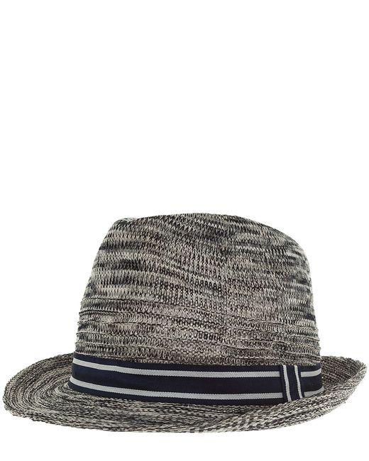 ARMANI JEANS   Мужская Синяя Шляпа