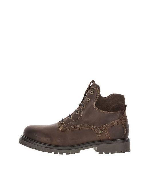 f48fe250 Мужские Коричневые Зимние Ботинки Из Натуральной Кожи Wrangler 1227467