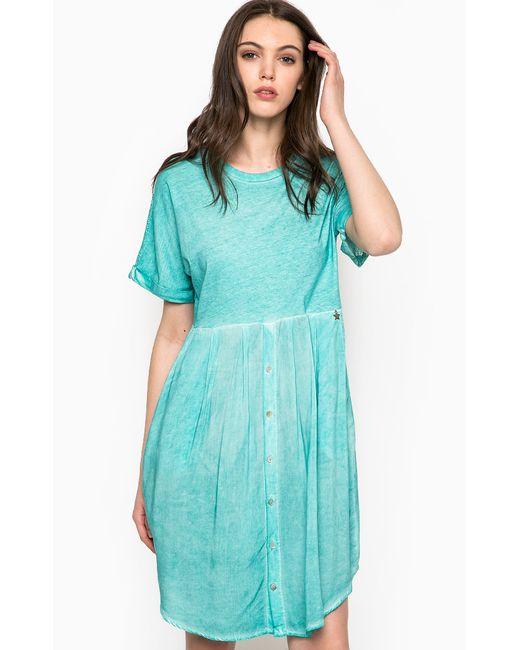Fornarina | Женское Бирюзовое Платье