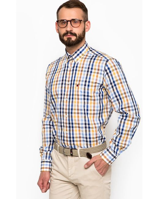 Lion Of Porches | Мужская Многоцветная Рубашка