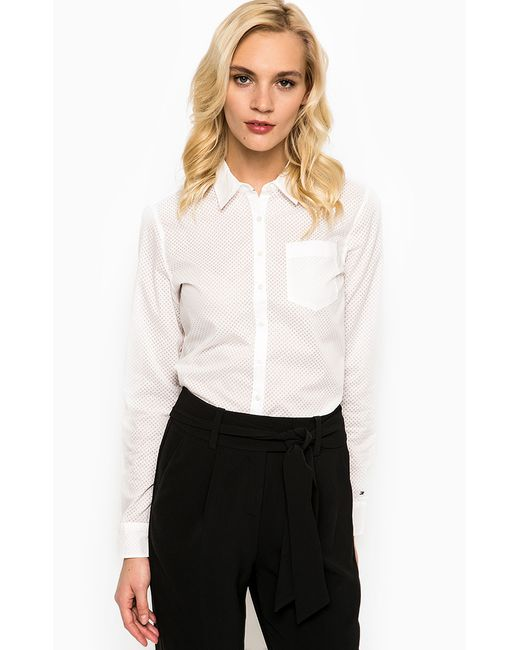 Tommy Hilfiger   Женская Белая Рубашка