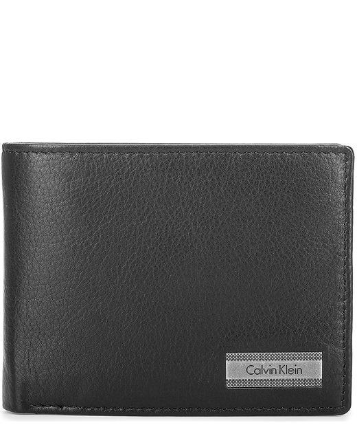 Calvin Klein Jeans | Мужское Чёрное Портмоне