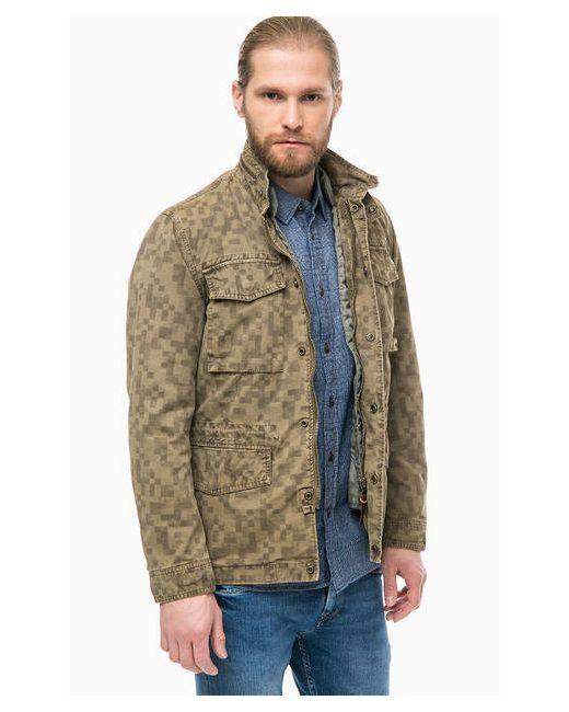 ec506d0f1ed Демисезонная Куртка С Дополнительным Стеганым Жилетом Pepe Jeans London  коричневый ...