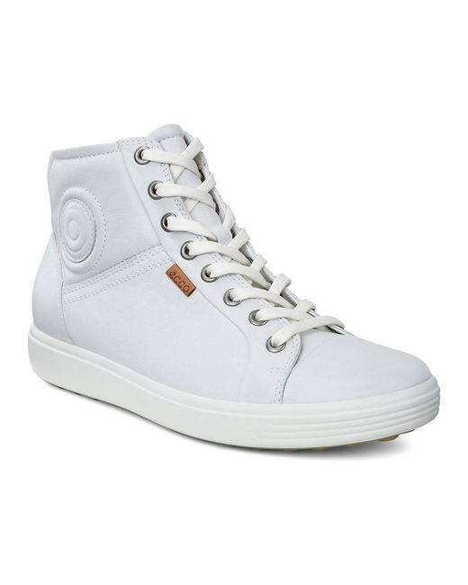 Ecco | Женские Белые Ботинки
