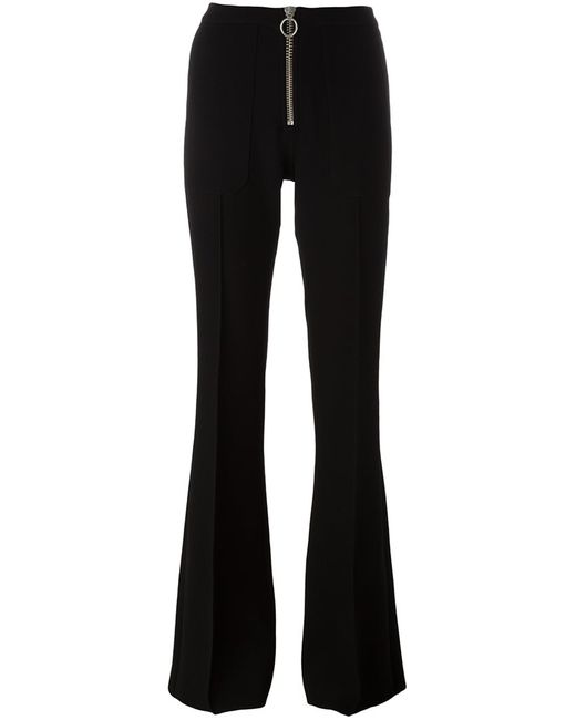 Marques Almeida | Чёрный Zip Up Flared Trousers