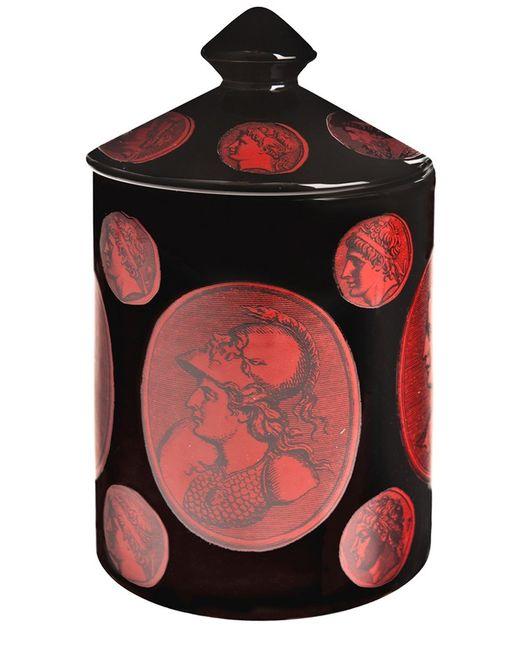 FORNASETTI | Красный Nero Cammei Candle