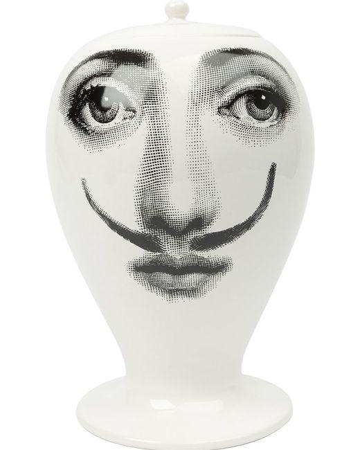 FORNASETTI | Чёрный Femme Aux Moustache Vase