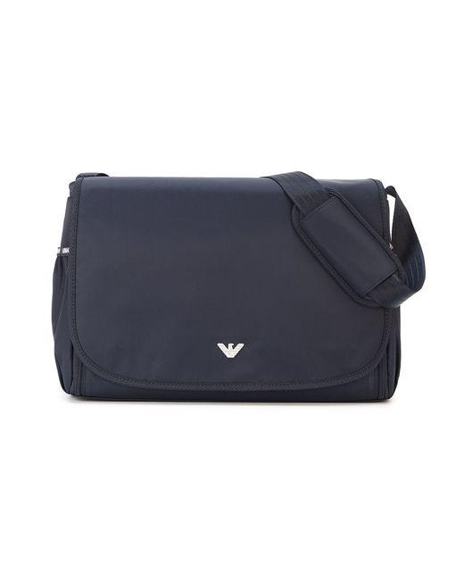 Armani Junior | Мужское Синий Changing Bag Set
