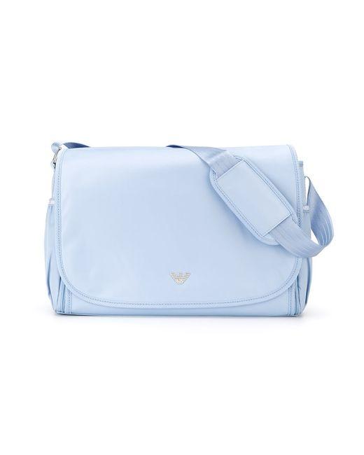 Armani Junior   Мужское Синий Changing Bag Set