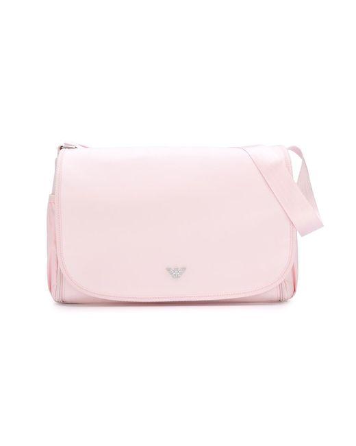 Armani Junior | Женское Розовый Flap Changing Bag