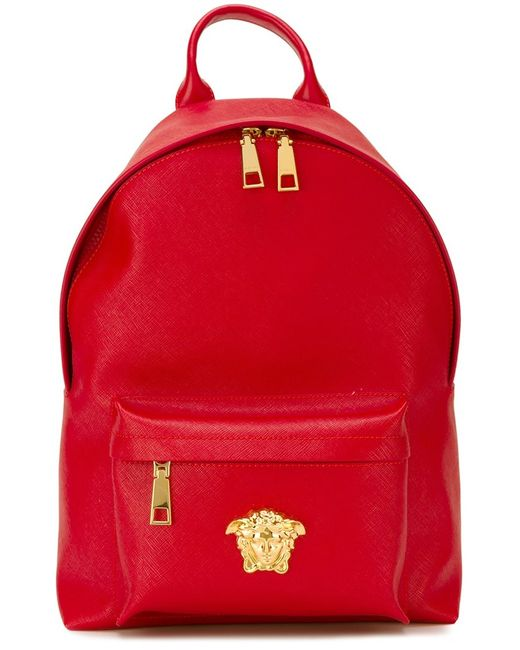 Versace | Женское Красный Medusa Backpack