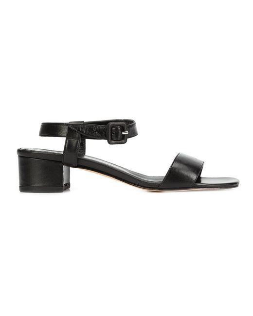 Maryam Nassir Zadeh | Женское Чёрный Sophie Sandals 36 Calf Leather/Leather