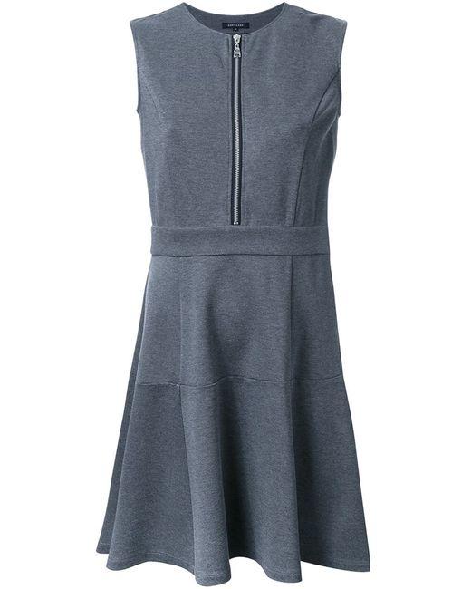 LOVELESS | Женское Серый Flared Zip Dress 34 Rayon
