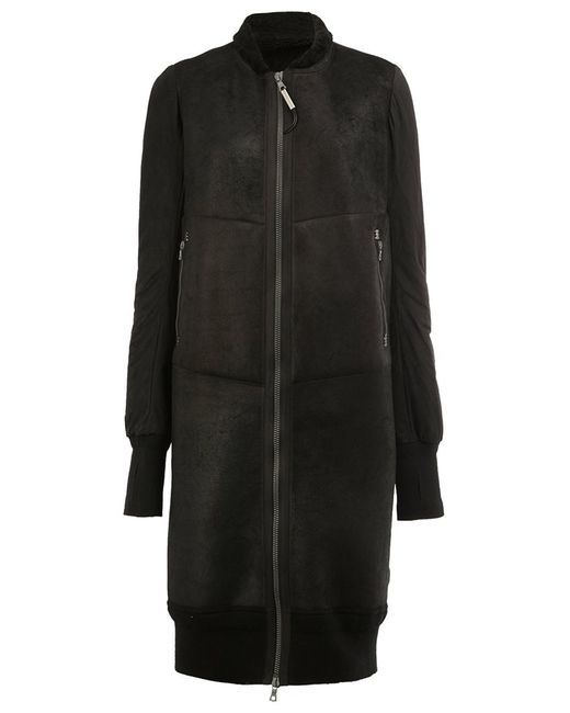 Isaac Sellam Experience | Женское Чёрный Long Bomber Jacket 36 Calf