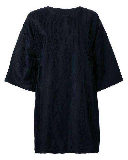 STRATEAS CARLUCCI | Женское Чёрный Macro Dress Small Silk
