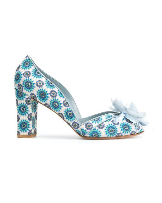 Sarah Chofakian | Женское Синий Embellished Pumps 35 Polyester