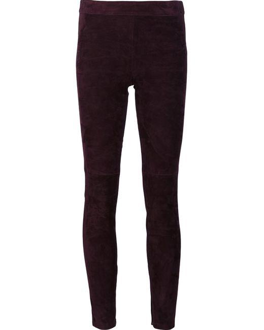 Elie Tahari | Женское Розовый Skinny Trousers Small Lamb Skin