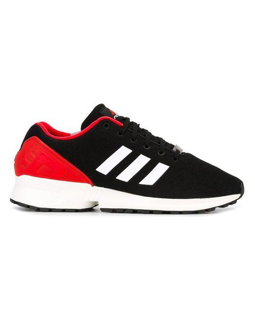 adidas Originals | Мужское Чёрный Zx Flux Sneakers 8 Nylon/Rubber