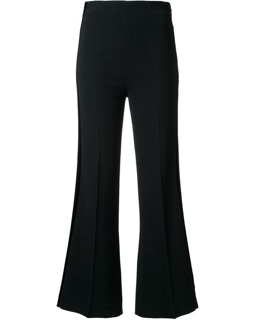 Roland Mouret | Женское Чёрный Connor Trousers 10 Acetate/Viscose